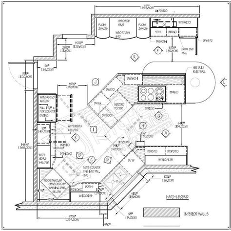 Cad Drawing Cadkitchenplans Com Portfolio 2d Autocad