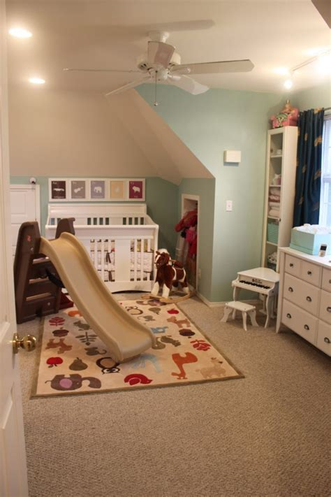 Attic Works Gender Neutral Nursery And Playroom Play Room For