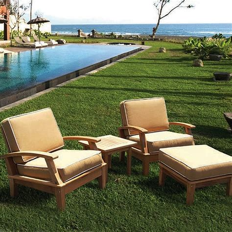 Patio Furniture Stores Miami Miami Teak Bronze Patio Furniture By Royal Teak