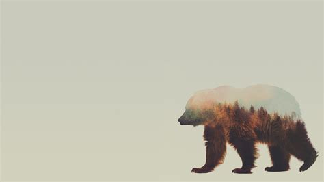 bear art wallpapers free download gt subwallpaper