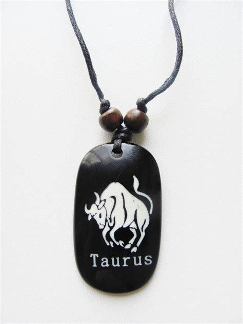 taurus zodiac sign pendant s adjustable necklace