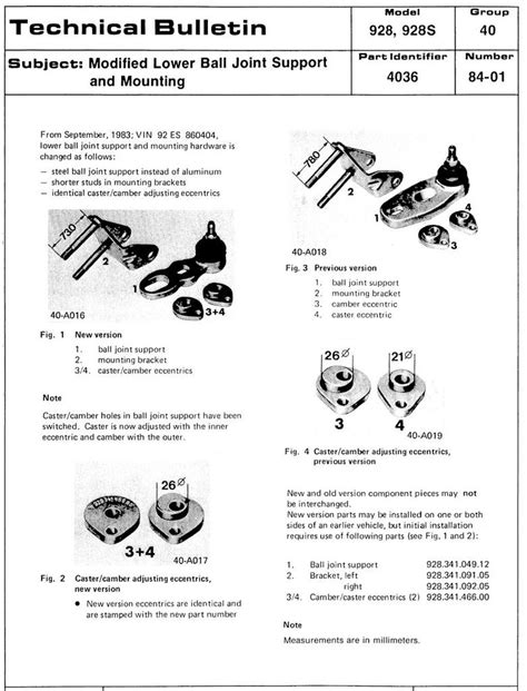 928 ball joint pelican parts technical bbs