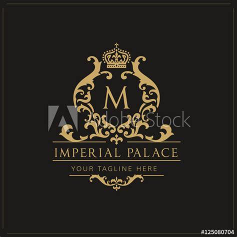 hotel logo imperial palace logo royal brand logo luxury
