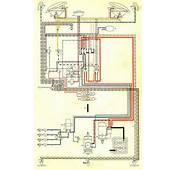 1959 Bus Wiring Diagram USA  TheGoldenBugcom