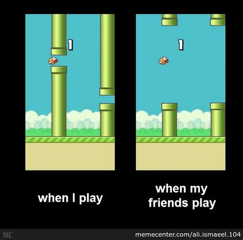 Flappy Bird Meme - the mysterious flappy bird by ali ismaeel 104 meme center