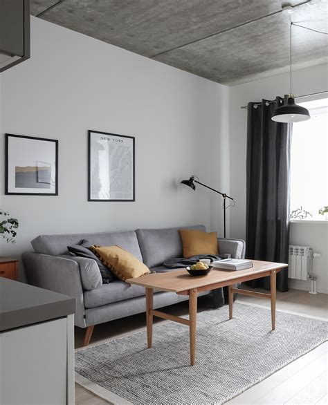 Concrete Apartments by Decordots My Latest Interior Project Modern Vintage