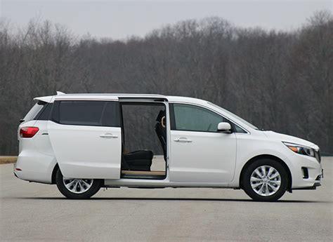 Kia Sedona Consumer Reports 2015 Kia Sedona Minivan Makes Strides Consumer Reports