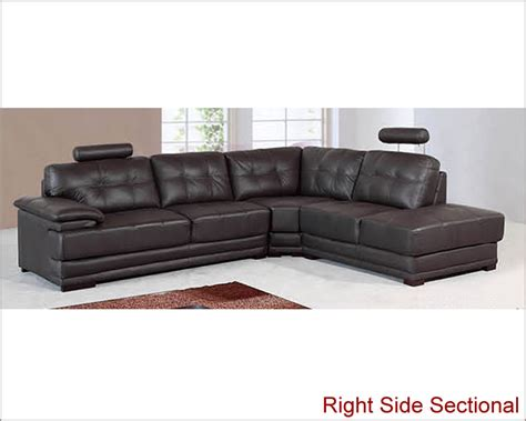 Real Leather Sectionals by Genuine Leather Sectional Set 33ls101