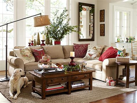decorating your yellow den for christmas pottery barn catalog pottery barn rugs and living rooms