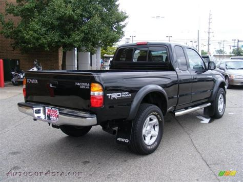 2002 Toyota Tacoma 4x4 For Sale 2002 Toyota Tacoma V6 Trd Xtracab 4x4 In Black Sand Pearl