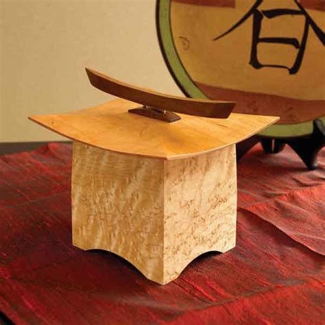 pagoda box woodworking plan  wood magazine