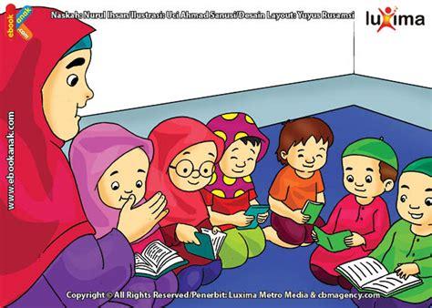 gambar alquran keren animasi membaca al quran
