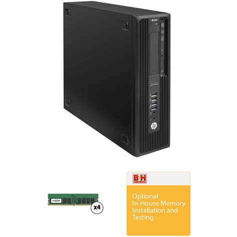Memory Hp 64gb hp z240 series small form factor turnkey workstation with 64gb