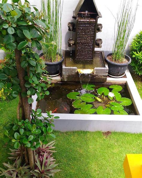 Lu Hias Untuk Rumah 33 desain kolam ikan minimalis di lahan sempit terbaru