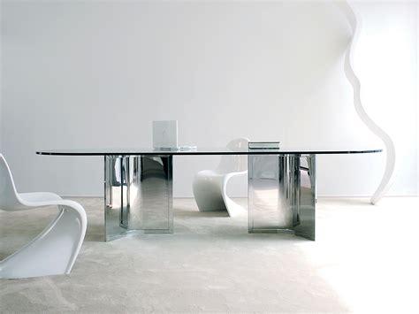 tavolo cristallo ovale tavolo ovale in cristallo raj by gallotti radice design