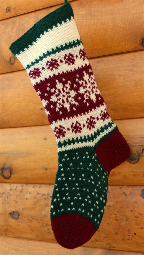 images of knitted christmas stockings hand knit christmas stocking