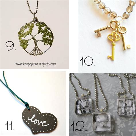 jewelry projects ideas 24 easy diy necklace ideas