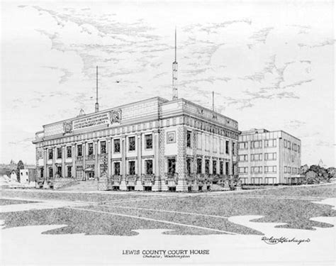 Lewis County Washington Court Records Washington State Courts Washington State Courthouse Tour