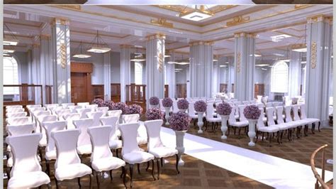 here what signature living cunard building wedding