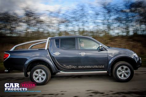 mitsubishi barbarian 2014 mitsubishi l200 barbarian double cab review still