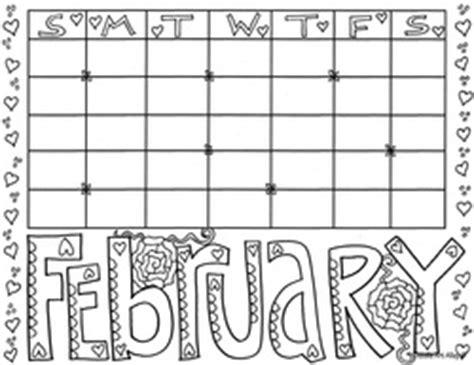 doodle free calendar calendar months coloring pages classroom doodles