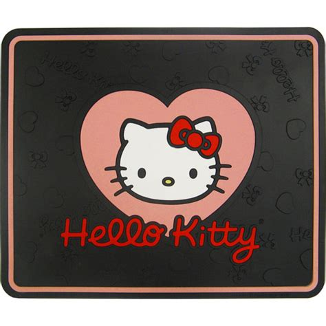 plasticolor hello with bow utility mat
