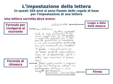 impostazione lettere la lettera questa sconosciuta ppt scaricare