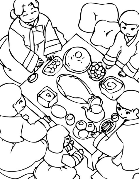 harvest festival coloring pages