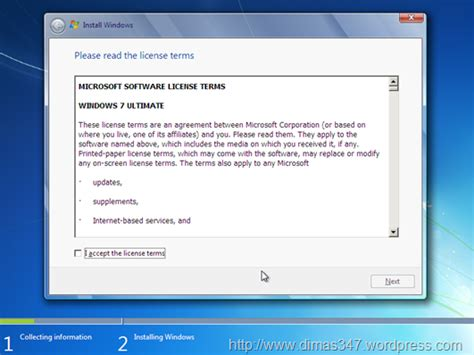 tutorial instal windows 7 di komputer tutorial install windows 7 ultimate belajar komputer