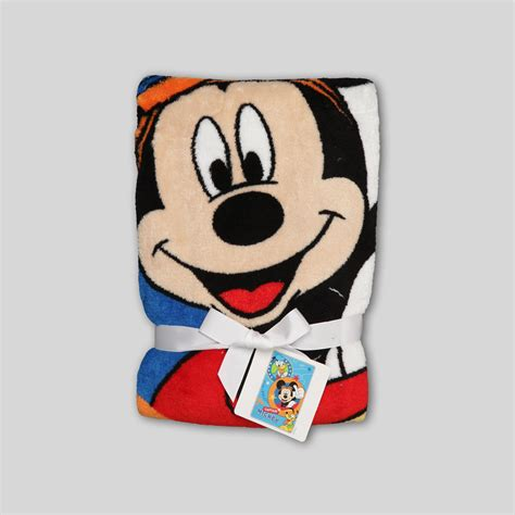 mickey mouse comfort blanket toddlers disney bedding kmart com