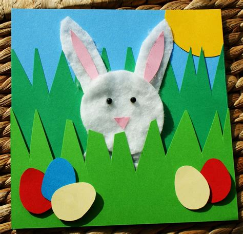 easter cards to make for children craft magic easter project handmade easter rabbit