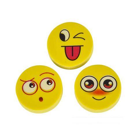 emoji erasers emoji eraser 2 quot toys and accessories el sol wholesale