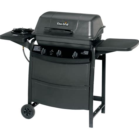 char broil 463723110 3 burner gas grill outdoor living