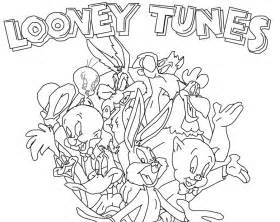 looney toons drawings az coloring pages
