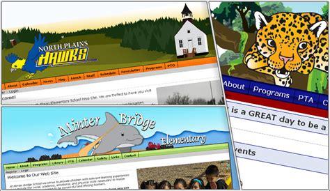 elementary school website elementary school websites 171 splint media