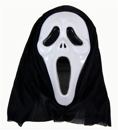 scary ghost face