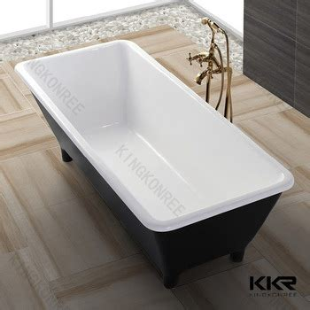 four foot bathtub artificial marble 4 foot bathtub stand alone bathtub buy
