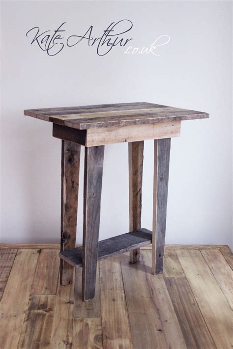 Reclaimed Wood Side Table Reclaimed Wood Furniture Side Table