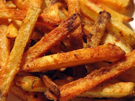 crispy baked french fries recipe dishmaps