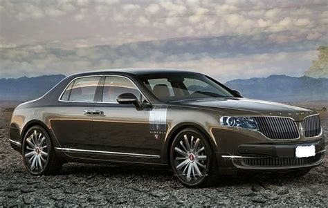 2016 lincoln town car release date price specs exterior