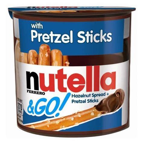 Nutella Go Nutella Go nutella go hazelnut spread pretzel sticks 1 9oz