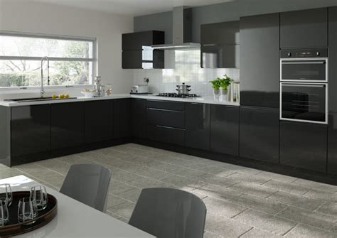 Black High Gloss Kitchen Cabinets by Why Handles Can Make All The Difference To Your Kitchen