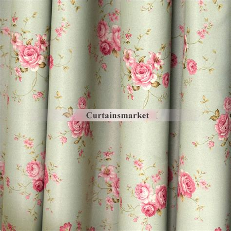 light green blackout curtains casual flower and light green blackout curtains