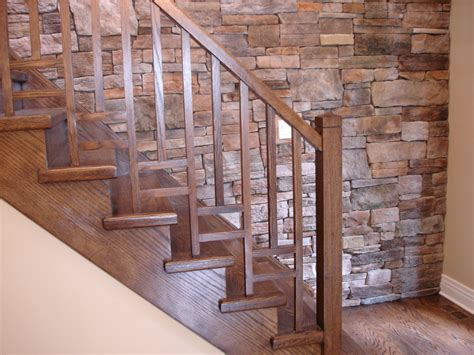 wooden stair banisters modern interior stair railings mestel brothers stairs