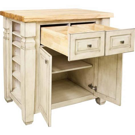 jeffrey alexander kitchen islands jeffrey alexander loft kitchen island with hard maple edge