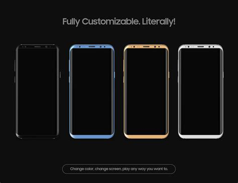 galaxy s8 vector mockup high resolution free psd