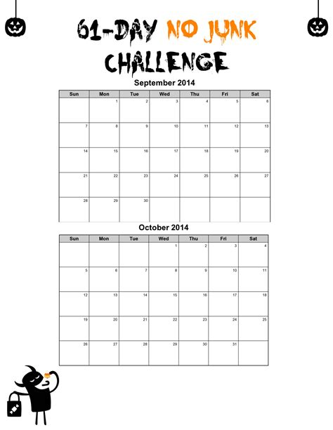 printable junk food coupons the 61 day no junk challenge life made full