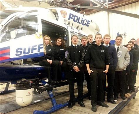 section 8 boces professional pilot program students get a close up look at
