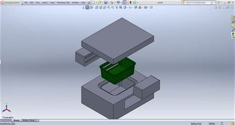 solidworks tutorial mold tutorial solidworks mold tools grabcad tutorials