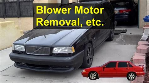 automotive air conditioning repair 1994 plymouth acclaim head up display service manual blower motor removal on a 1999 volvo c70 how to replace the heater resistor